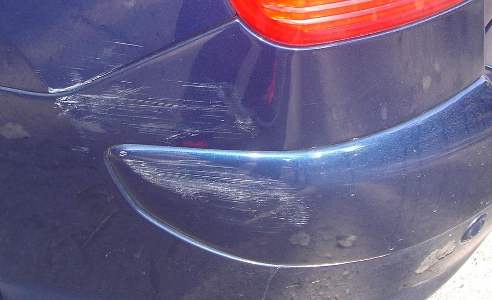 Полировка авто царапин