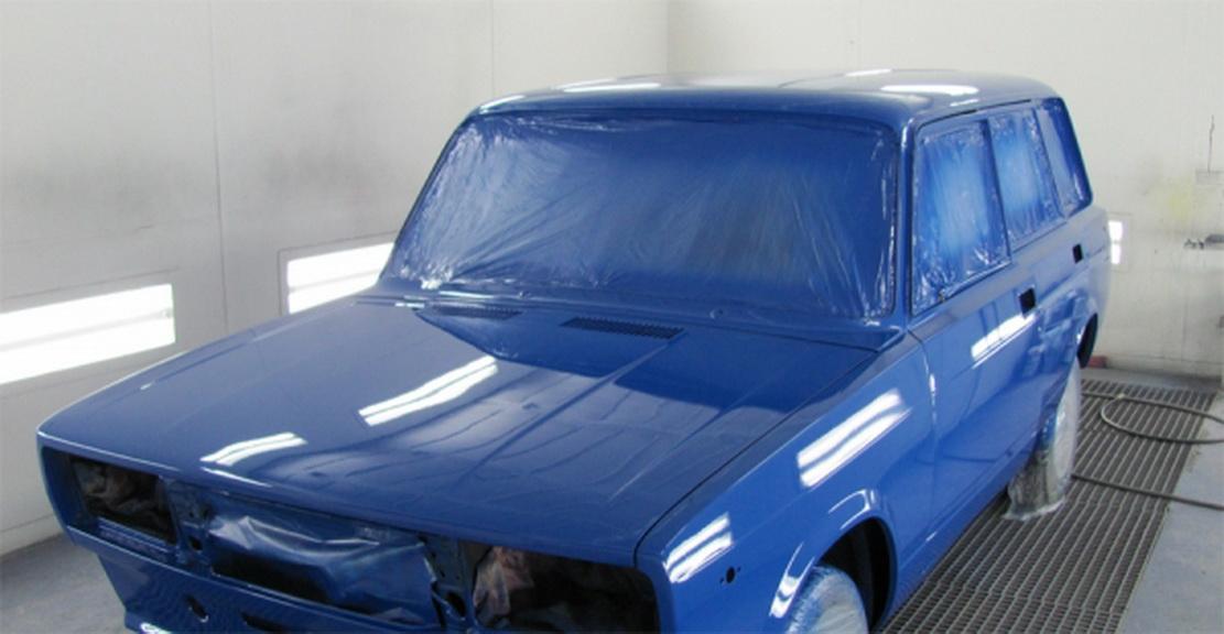 Покраска авто как правильно