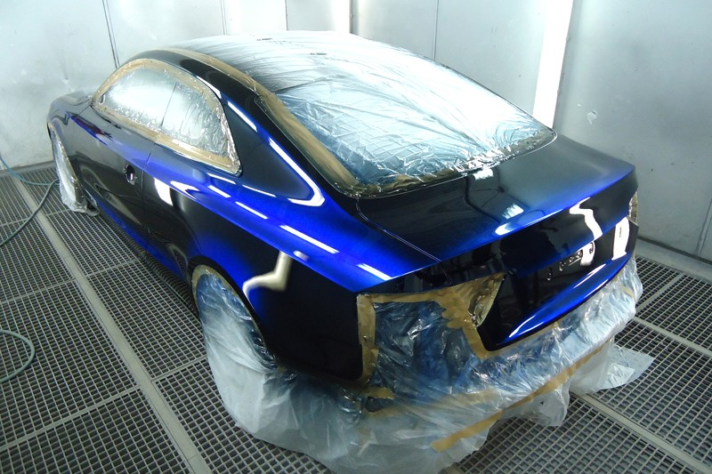 Выбор краски для покраски автомобиля своими руками